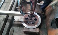 CNC Portable oxyfuel flange cutting